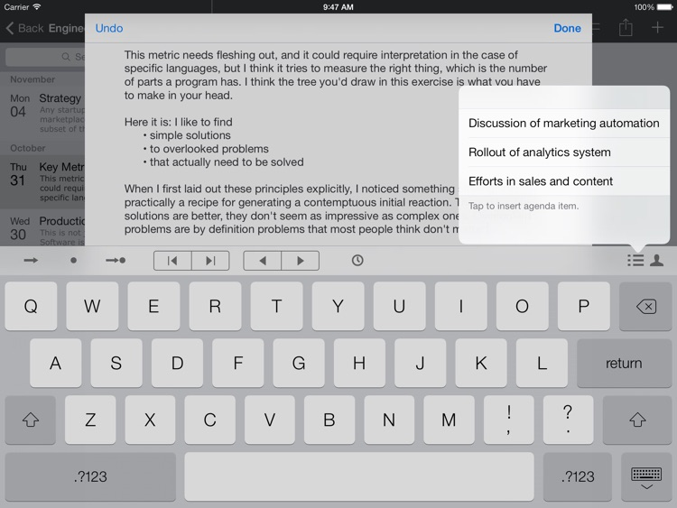 Meetings - Notebooks for Work - Meeting Notes, Agendas, and Minutes screenshot-3