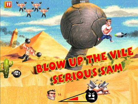 Serious Sam: Kamikaze Attack! на iPad