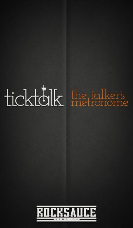 TickTalk: The Talker's Metronome