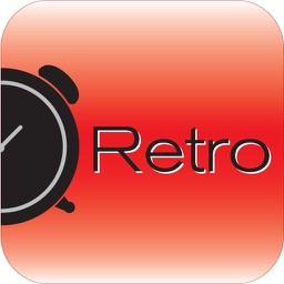 Brookstone Retro Alarm Clock