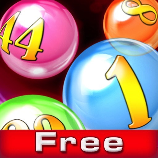 Bubble Numbers FREE icon