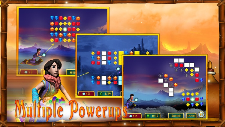 Aladdin's Quest for Diamonds for iPhone screenshot-3