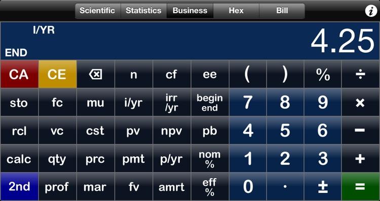 Perpenso Calc 4 screenshot-3