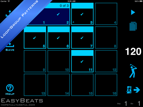 EasyBeats 2 Pro Drum Machine - Beat or Program Drums!-ipad-2