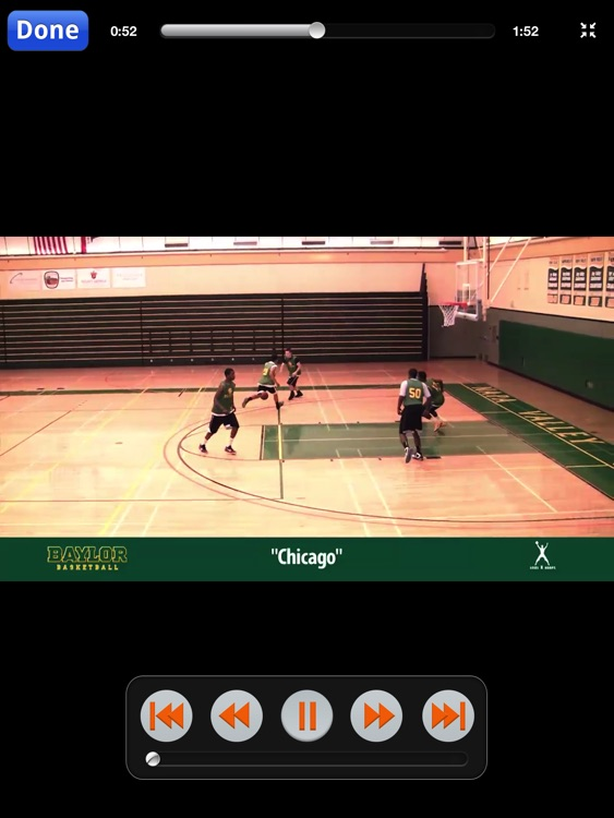 Baylor Man To Man Quick Hitters - With Coach Scott Drew - Full Court Basketball Training Instruction - XL screenshot-3