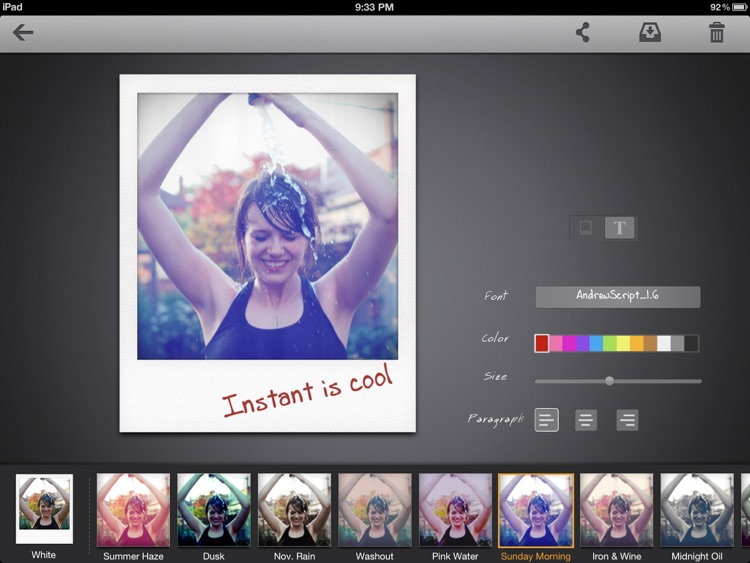 Instant: The Polaroid Instant Photos for iPad