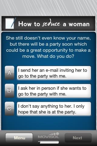 How to Seduce a Woman screenshot-3