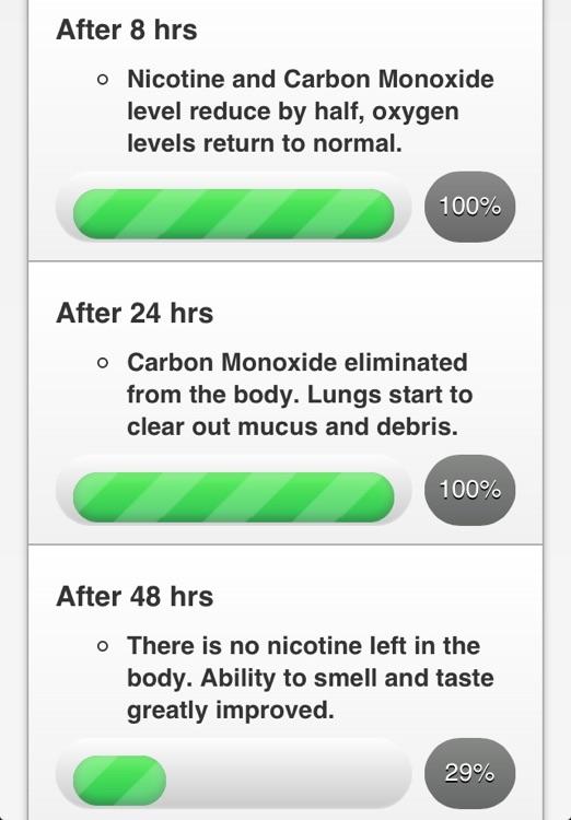 iQuit - Stop Smoking Counter screenshot-3