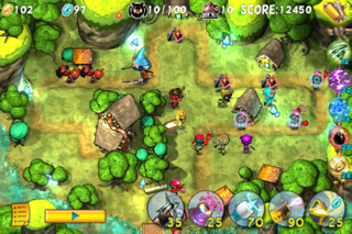 Ninja TD Lite screenshot three