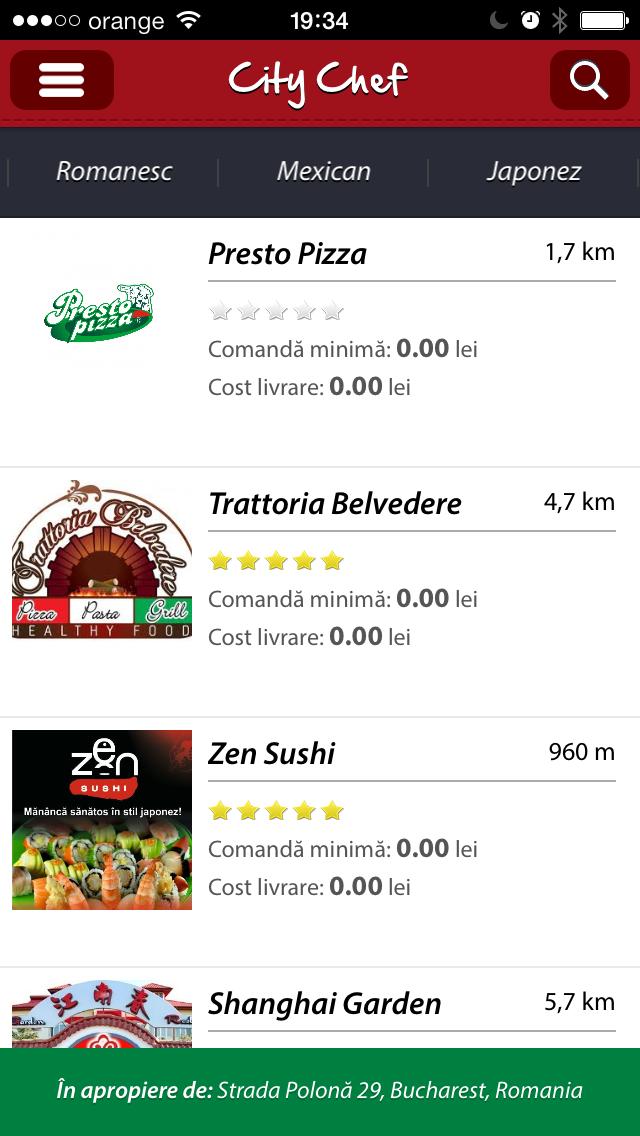 City Chef Screenshot