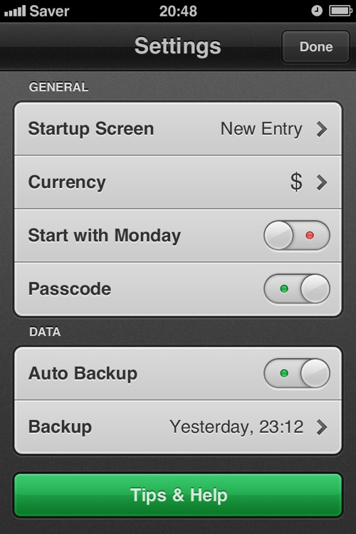 Saver ~ Control your Expenses screenshot-4