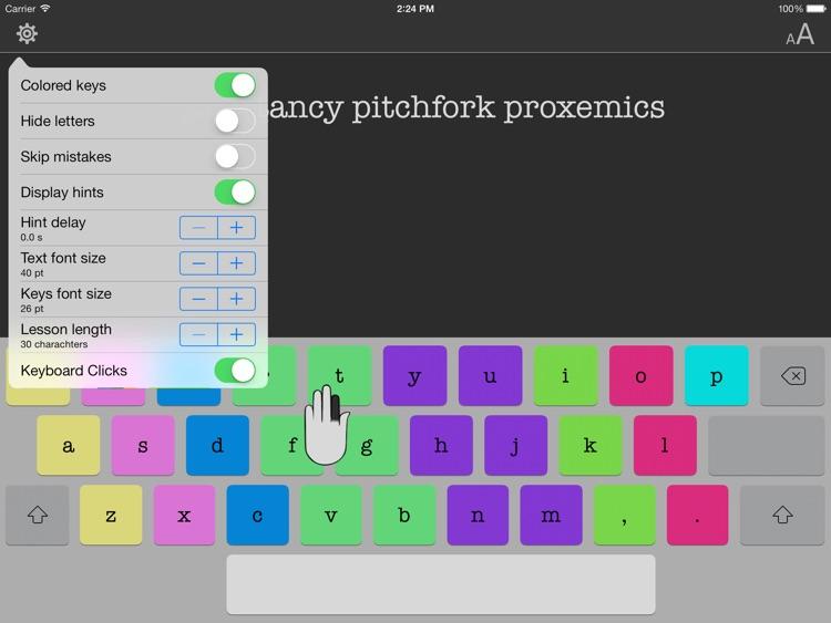 Typing Tutor for iPad