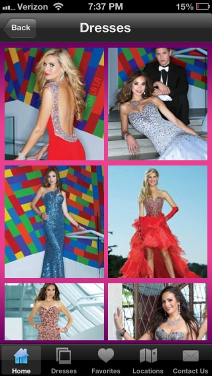 The Cool Book Prom Dress 2013 App by Avanaire Design, LLC