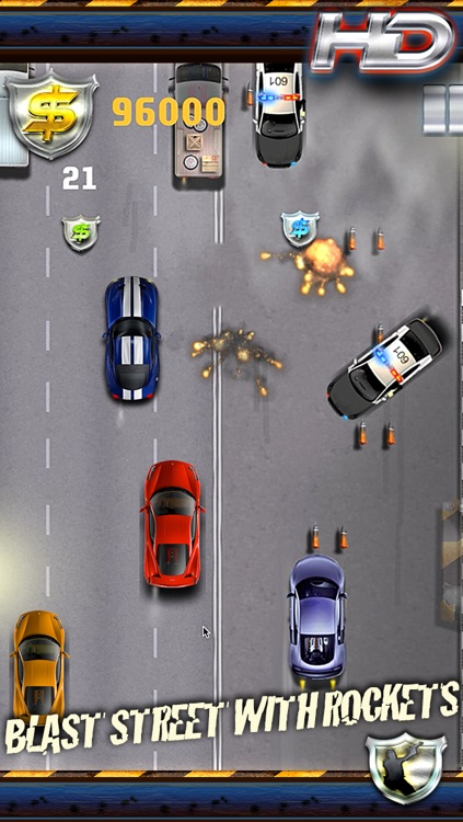 Auto Smash Police Street - Fast Driver Chase Edition screenshot-4