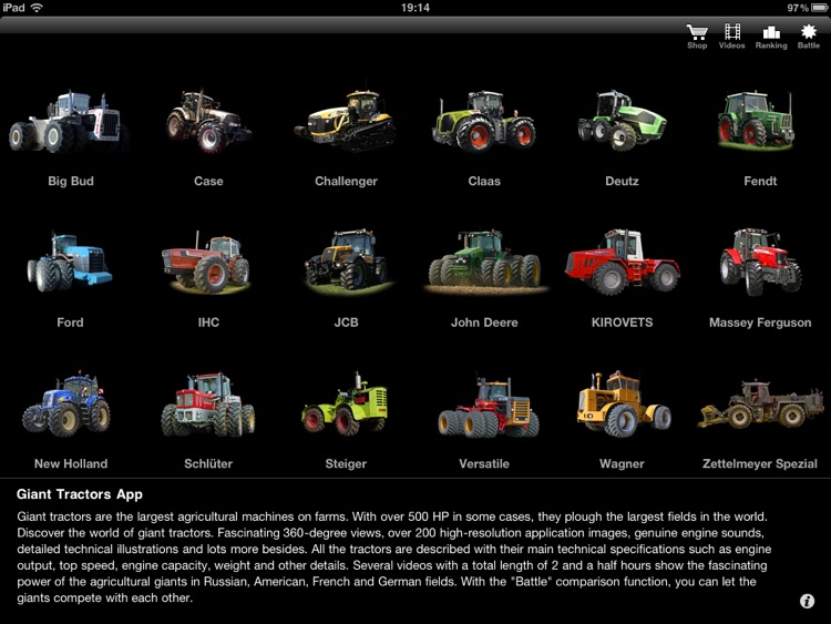 Tractors - Giants of Agriculture