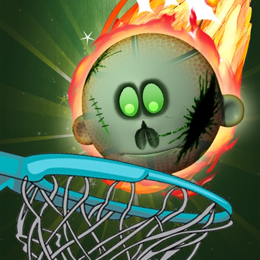 Zombie Head Hoops Basketball Skill Shot Training icon