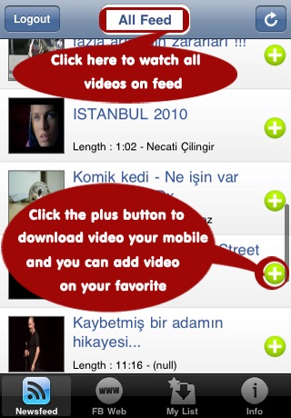 Video Player and Downloader for Facebook screenshot-1