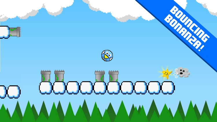Blue Bird Bounce - Impossible Flappy Fun screenshot-3