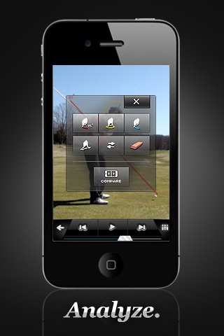 iSwing Golf screenshot1