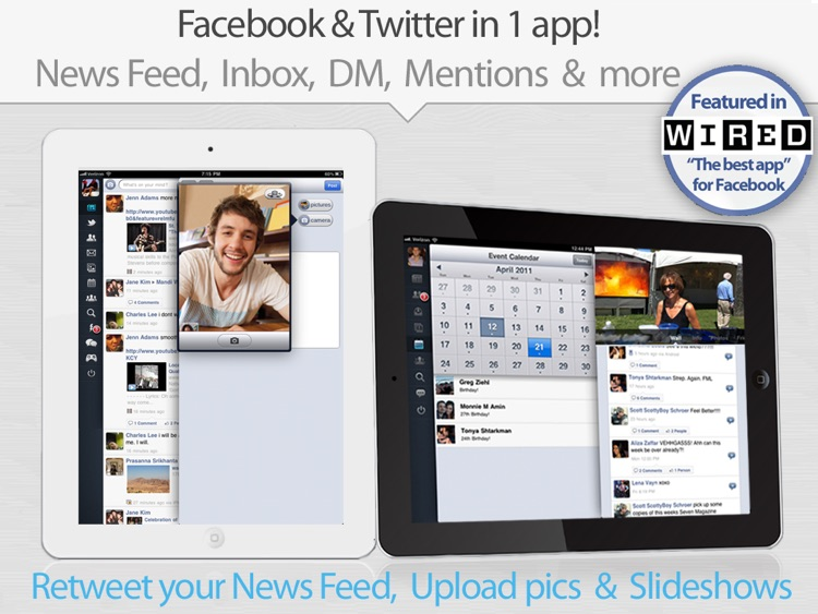 MyPad+ - for Facebook, Instagram & Twitter screenshot-3