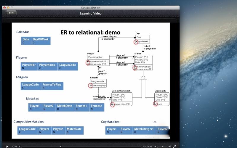 Database Design screenshot 4