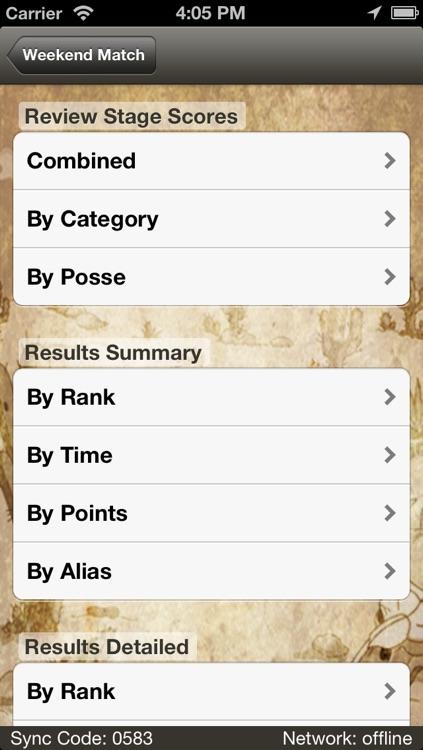 ACES - SASS Scoring screenshot-3