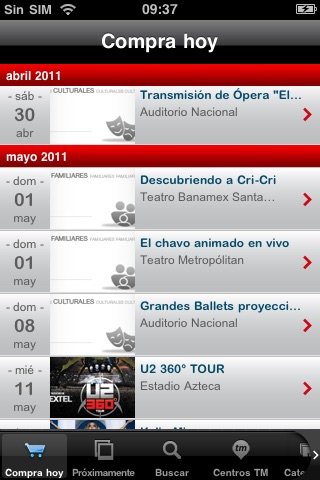 Ticketmaster México screenshot-2