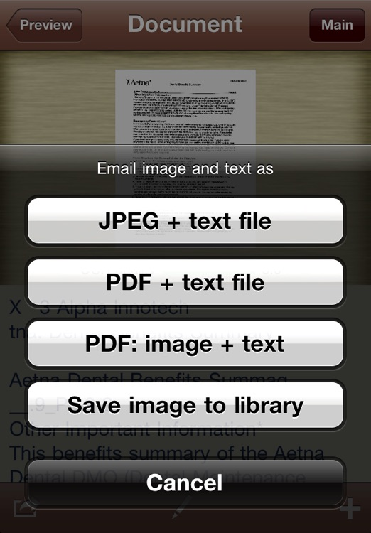 Perfect OCR: document scanner with high quality OCR screenshot-3