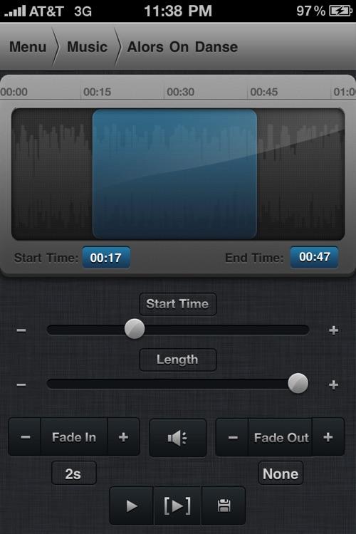Create Ringtones! screenshot-3