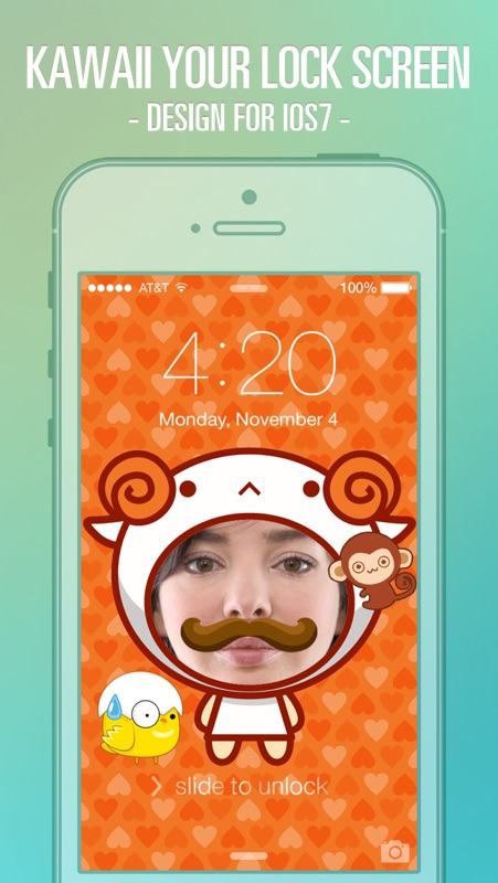 Pimp Lock Screen Wallpapers Cute Cartoon Special For Ios 7