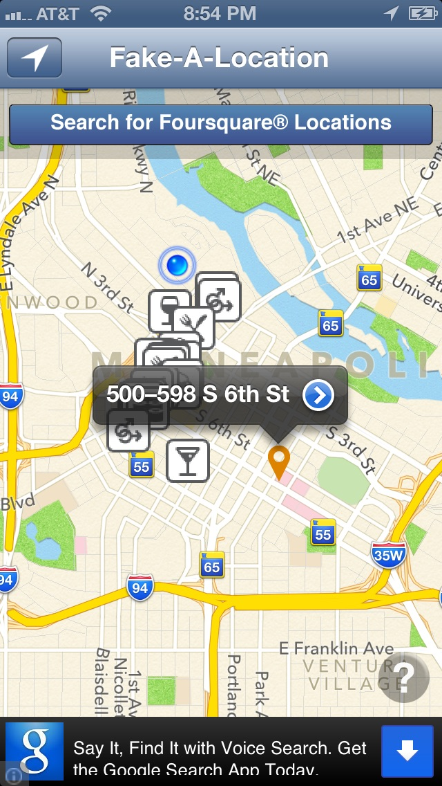 Fake-A-Location Free ™ by Excelltech Inc  (iOS, United