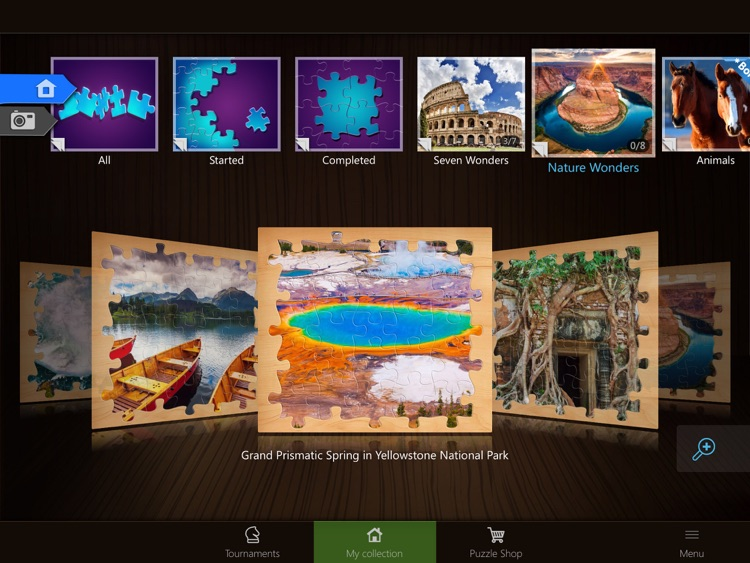Jigsaw Puzzles: Seven Wonders screenshot-3
