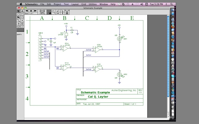 Schematic Drawing Mac - Circuit Wiring And Diagram Hub •