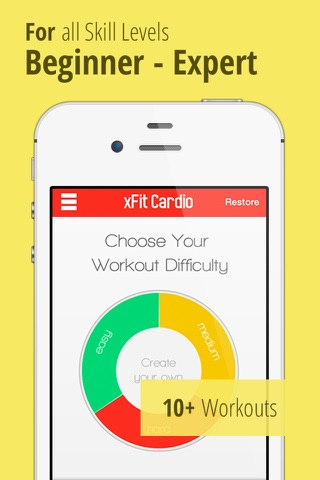 xFit Cardio – Daily Workout to Lose Belly Fat and Gain Endurance screenshot 2