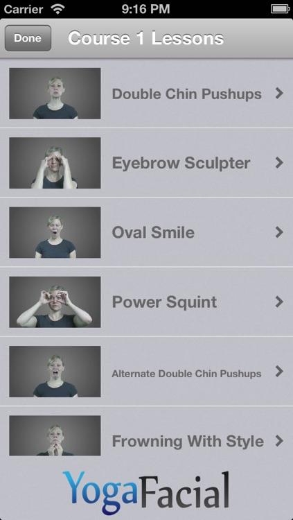 Yoga Facial - Effective Facial Exercises screenshot-3