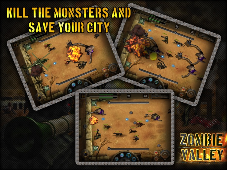 Zombie Valley HD screenshot-3
