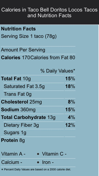 Food Labels screenshot-3