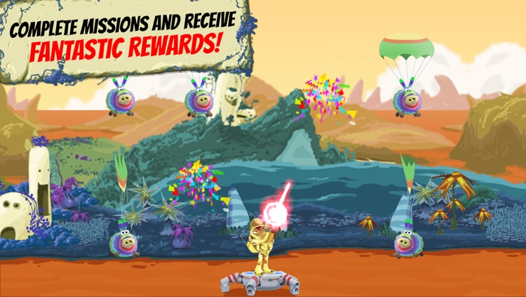 Jeff Space - Action Packed Arcade Shooting Game screenshot-4