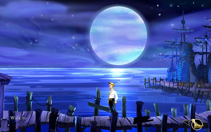 Screenshot #3 for The Secret of Monkey Island ™: Special Edition