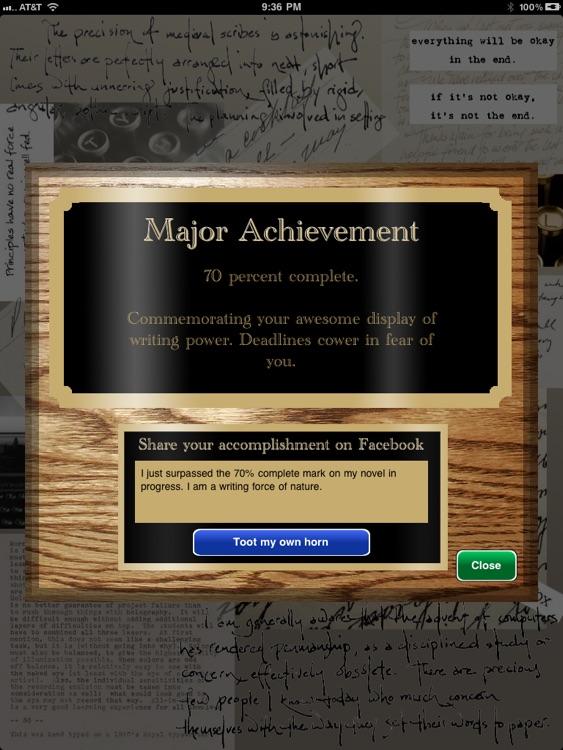 Novel in 30 screenshot-3