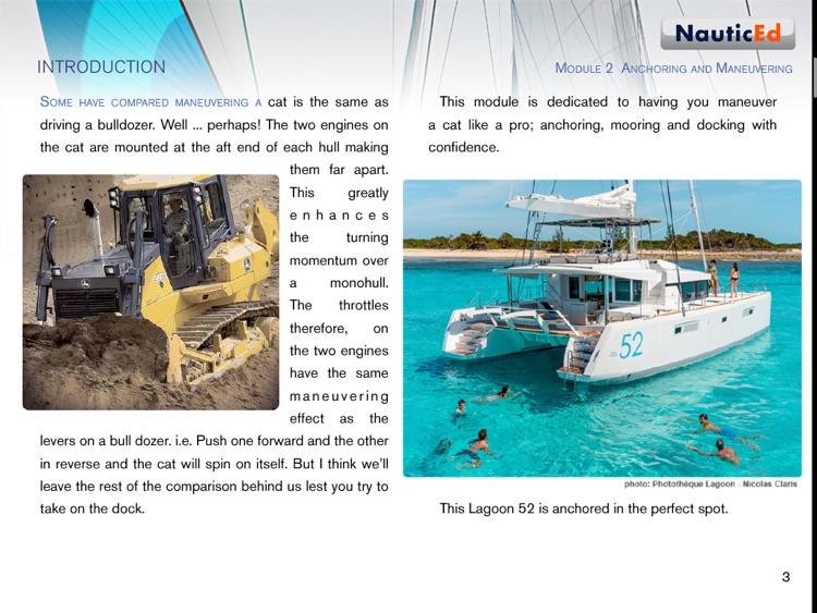 Catamaran Sailing Confidence screenshot-3