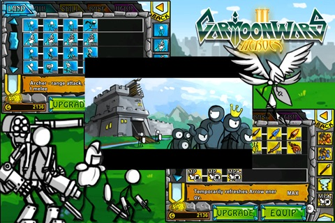 Cartoon Wars 2: Heroes Lite screenshot-0