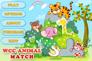WCC Animal Match Lite Version - Memory Cards for Kids - Learn