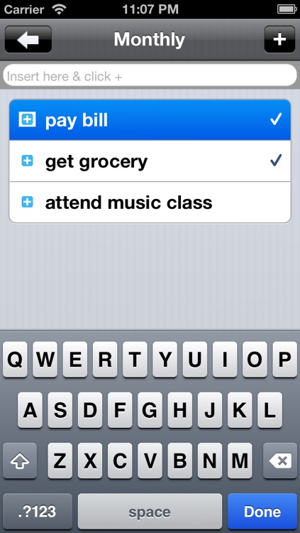 Simple Shopping List
