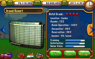 Screenshot #2 for Hotel Tycoon Lite