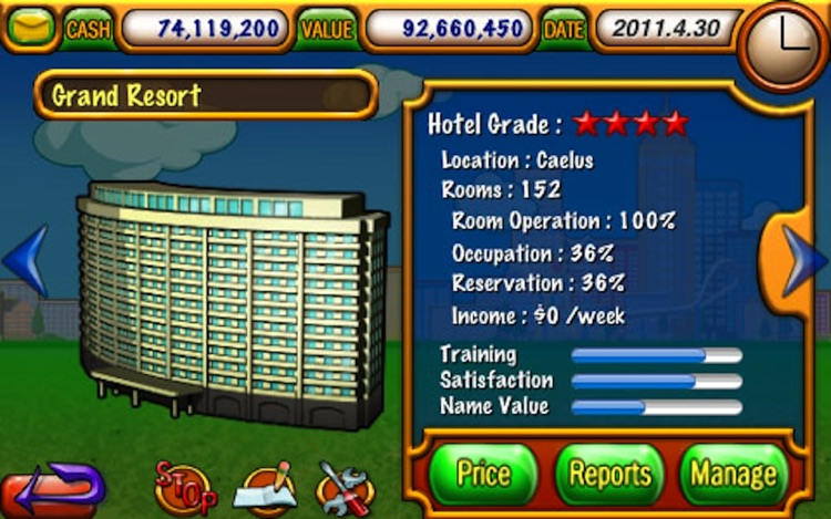 Hotel Tycoon Lite screenshot-1