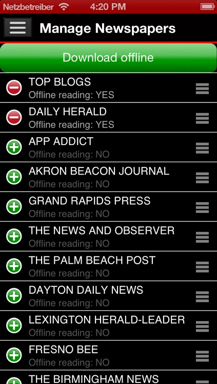 US Newspapers Plus ( sunflowerapps ) screenshot-3