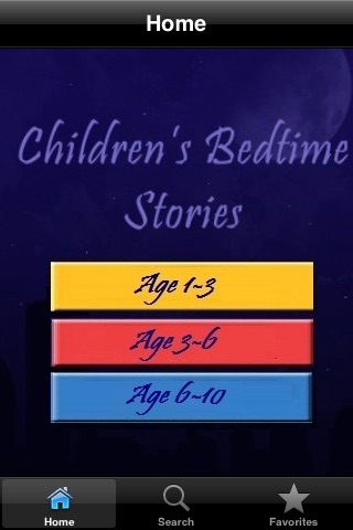 Kid's Bedtime Stories screenshot-1