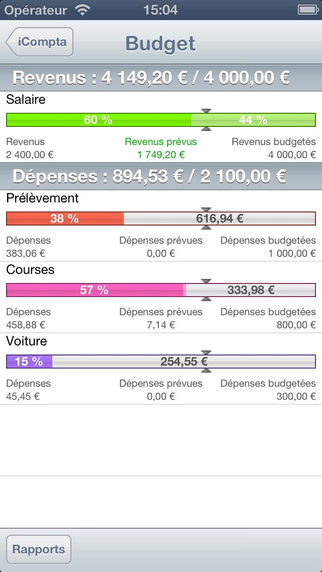 iCompta 2 screenshot three