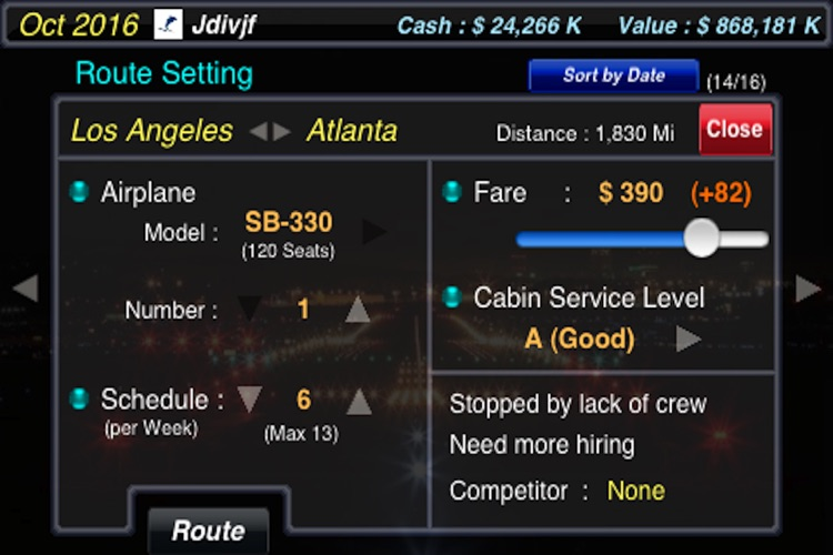 AirTycoon - Airline Management screenshot-3